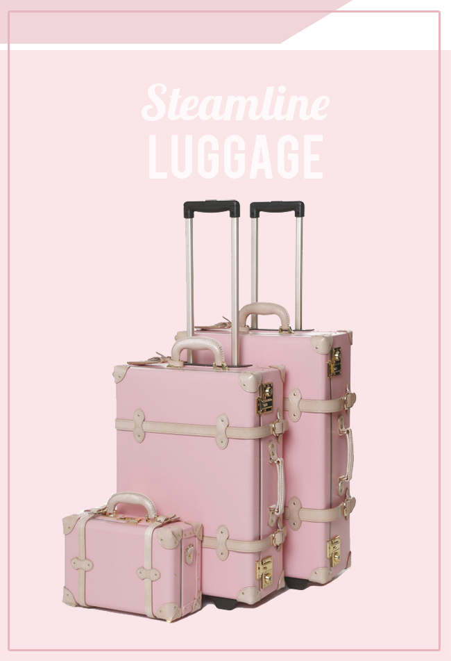 Steamline Luggage via IHOD