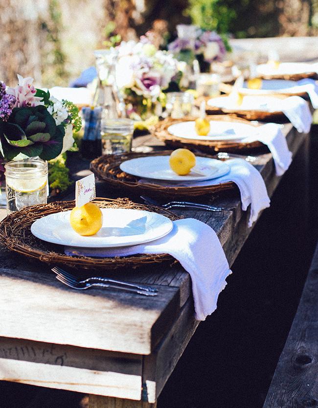 Backyard dinner | IHOD