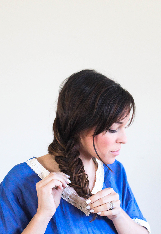 Fishtail Braid: Step by Step Tutorial