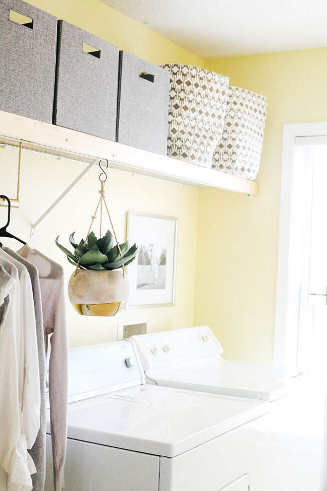 Laundry Room Makeover via In Honor of Design