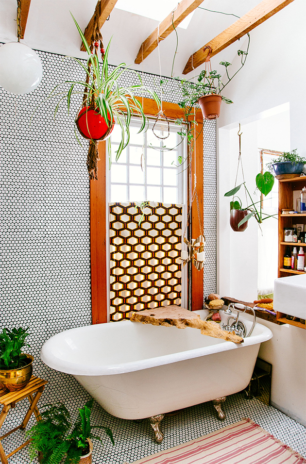 boho bathroom ideas diy tripod planter the new boho book in honor of design 10779