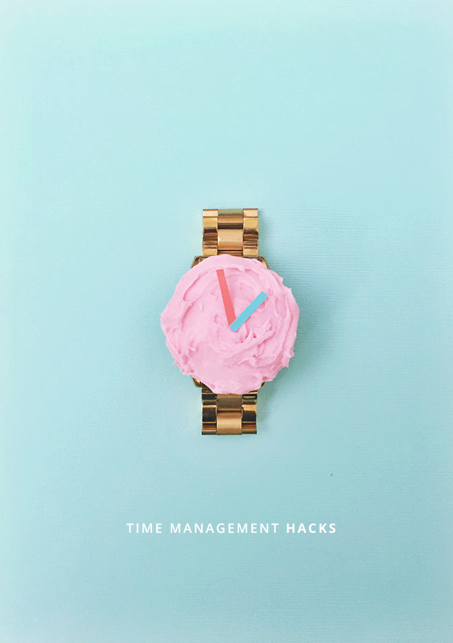 Time Management Hacks via In Honor of Design