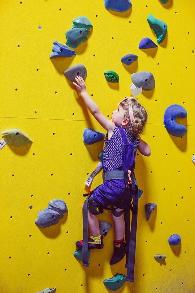 High Point: Rock climbing for kids