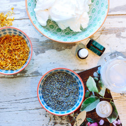 Essential oil body butters | In Honor of Design