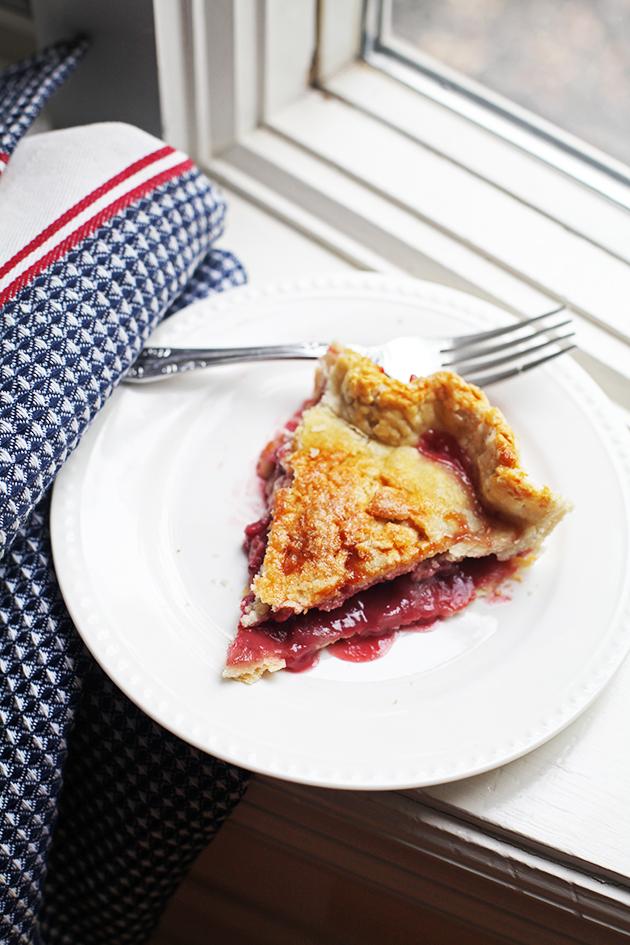 Homemade Strawberry Pie Recipe | In Honor of Design