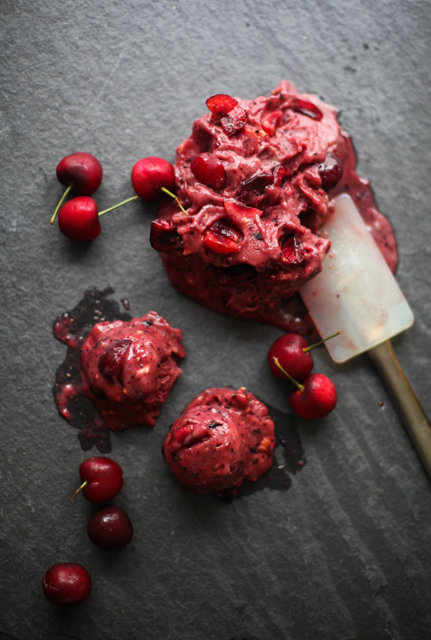 Mango Berry Cherry Energizing Sorbet | In Honor of Design