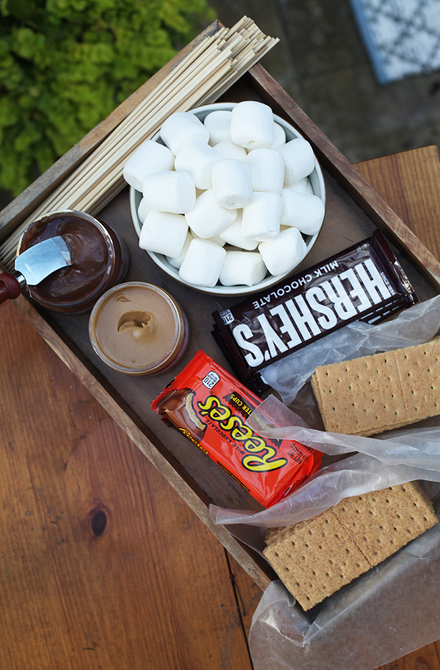 S'more recipe via In Honor of Design