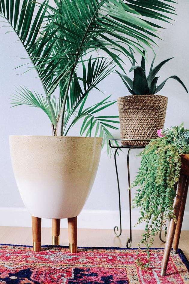 DIY-Modern-Planters