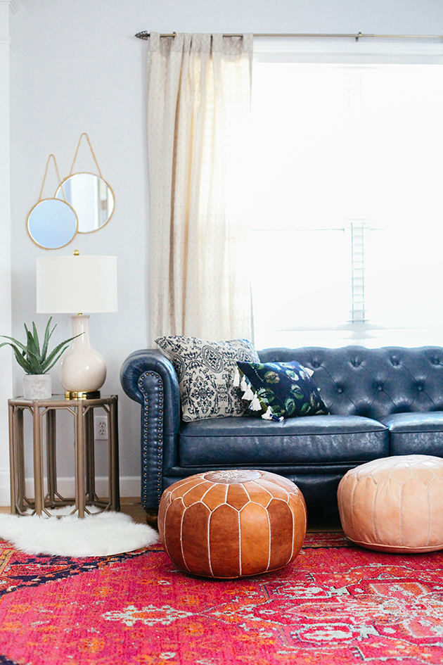 Living Room | In Honor of Design