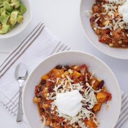 Vegetarian Chili - via IHOD