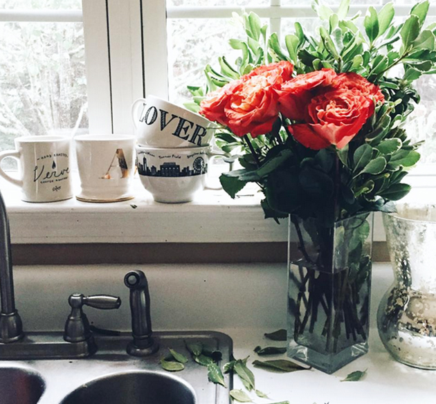 Florals and mugs
