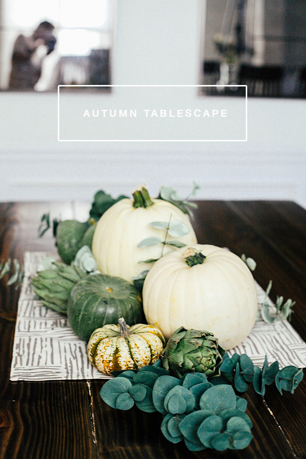 Autumn Tablescape | In Honor of Design