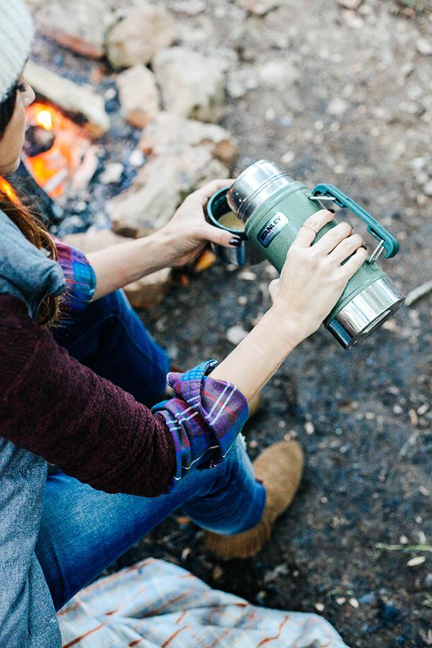 Campfire cocoa