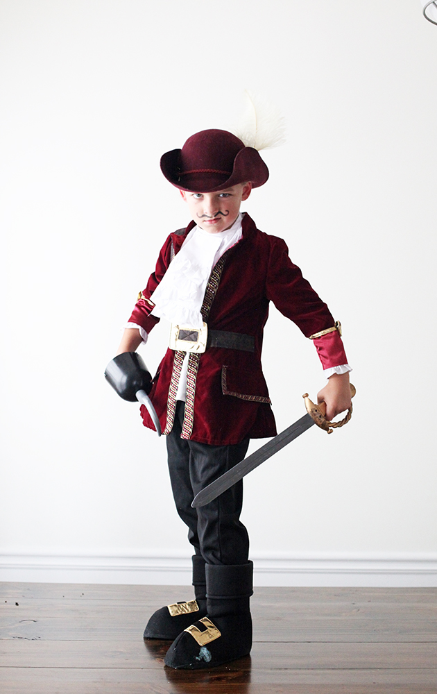Captain Hook costume | In Honor of Design