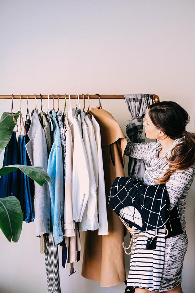 Buildable wardrobe