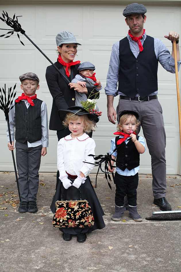 Mary Poppins and the Chimney Sweeps