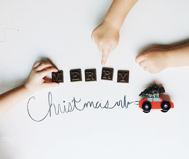 Merry Christmas Chocolate
