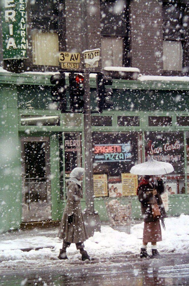 snowy ny streets 2
