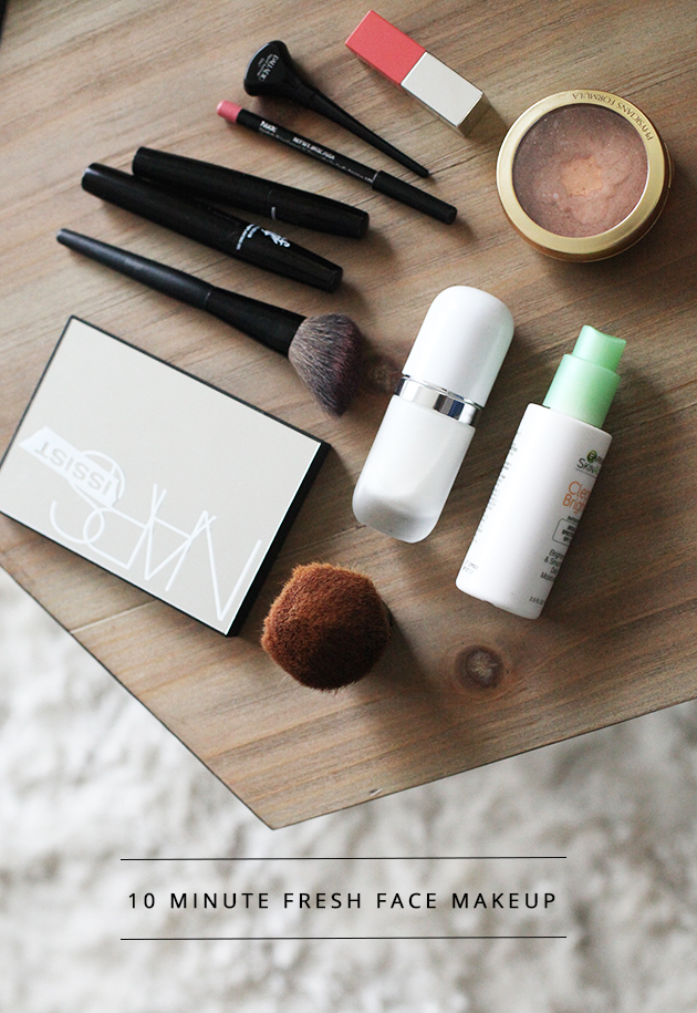 10 minute fresh face makeup