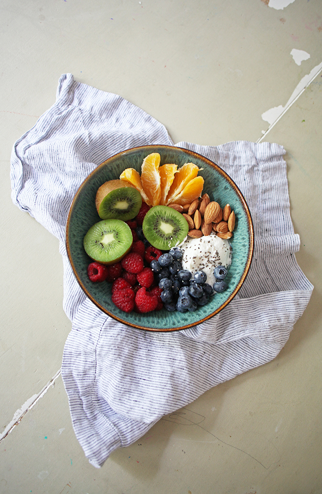 breakfast - energy fruit bowl