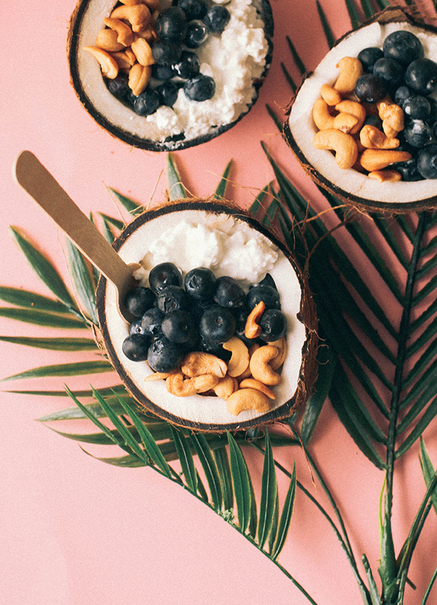 coconut breakfast bowls