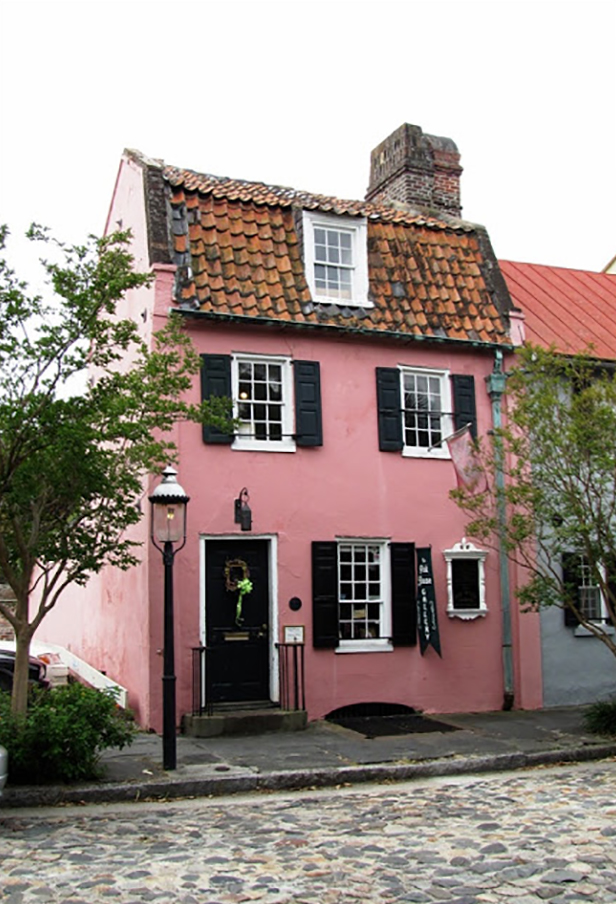 that pink house