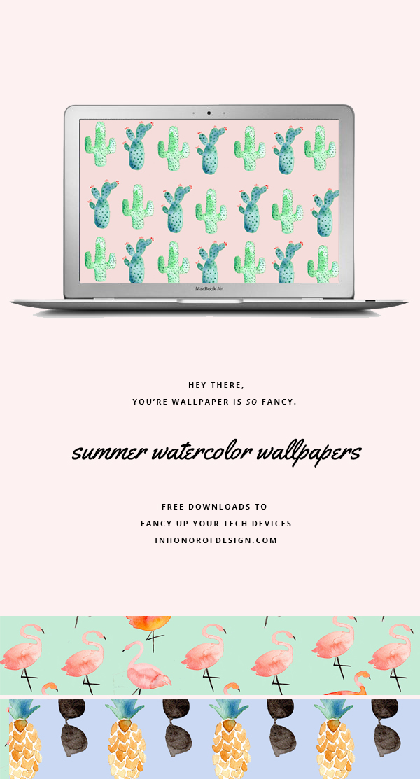 summer watercolor desktop downloads