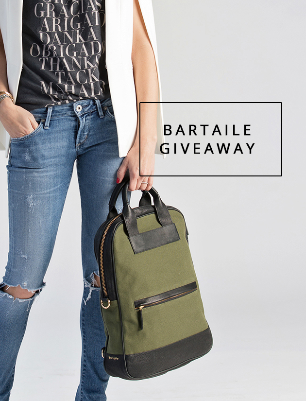 Bartaile backpack giveaway