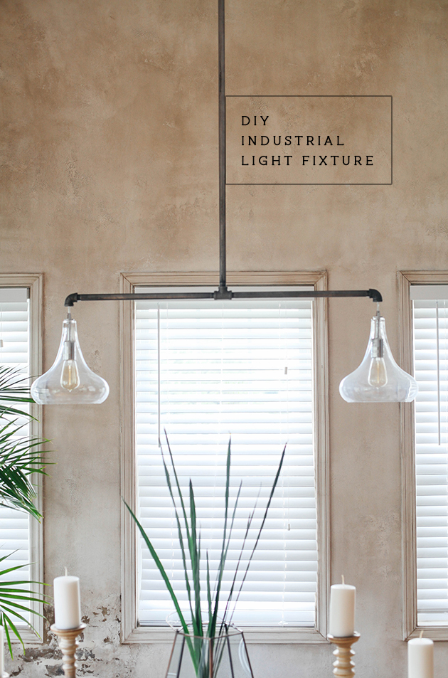 DIY industrial lighting
