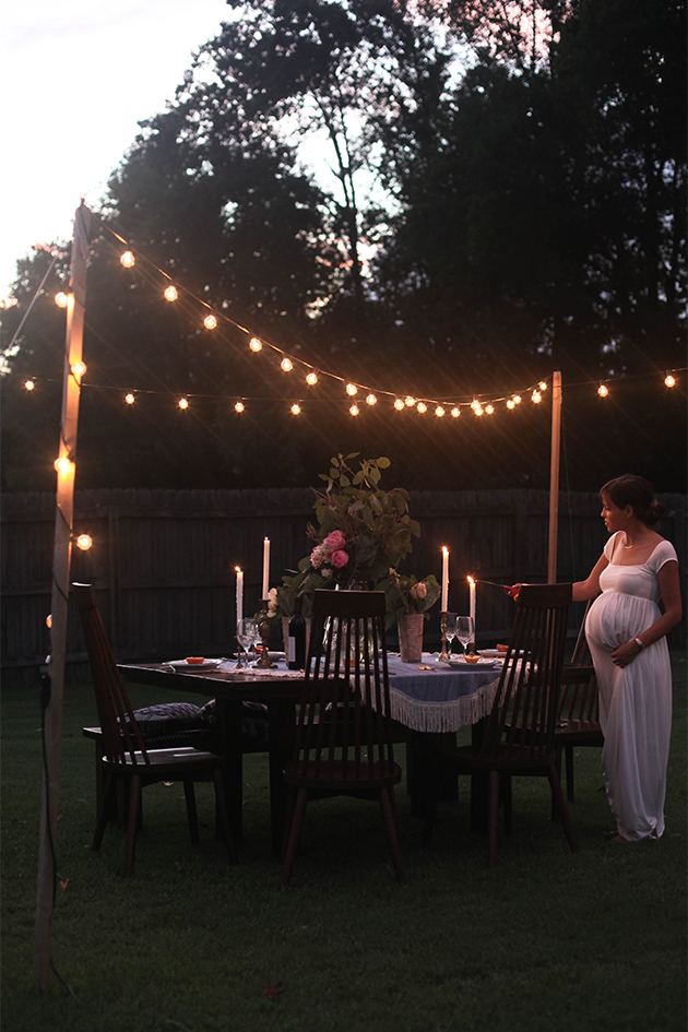Backyard Dinner Party In Honor Of Design