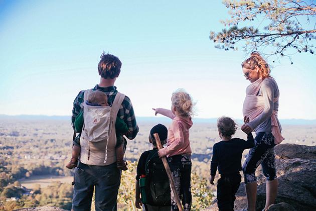 family-hike