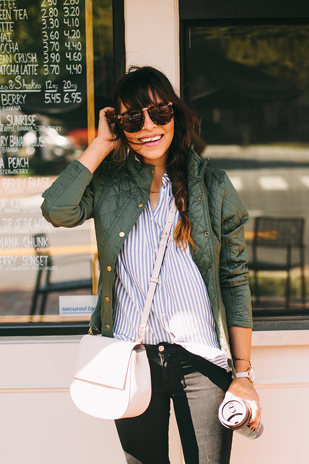 quilted-jacket-and-stripes