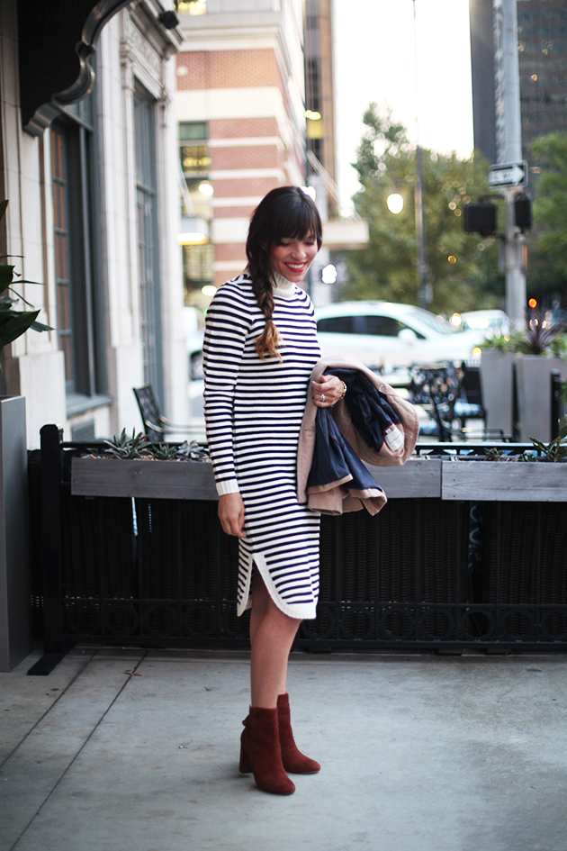 striped-sweater-dress