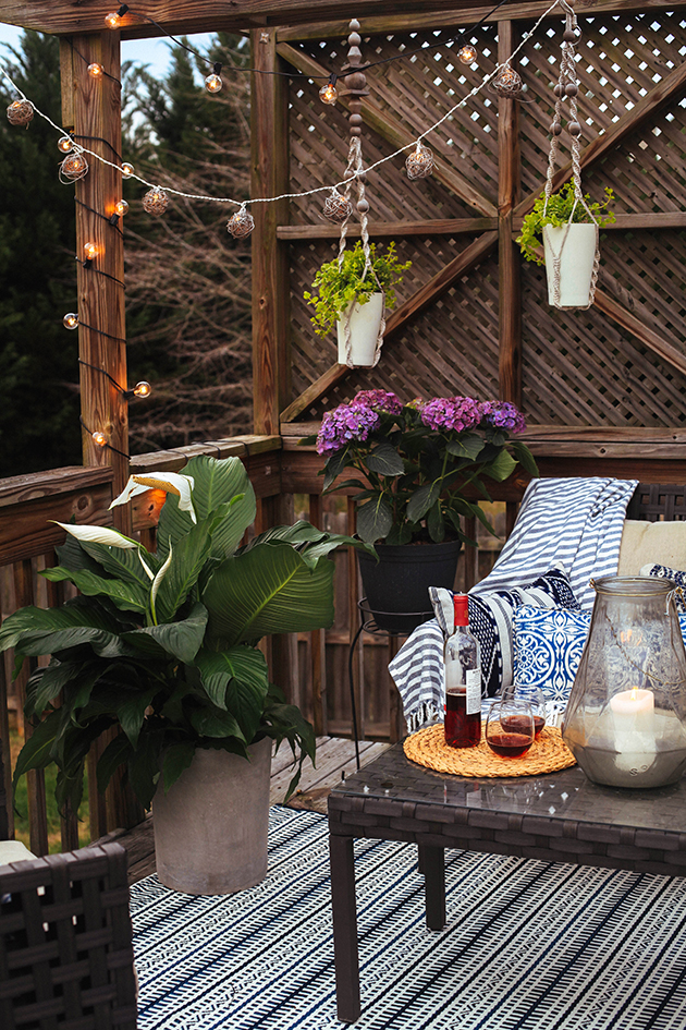 Backyard Patio Hangout In Honor Of Design