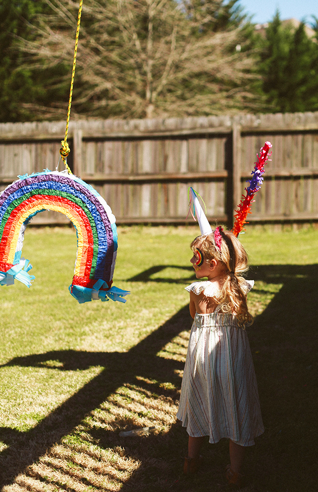 A Rainbow Unicorn 6th Birthday | In Honor Of Design