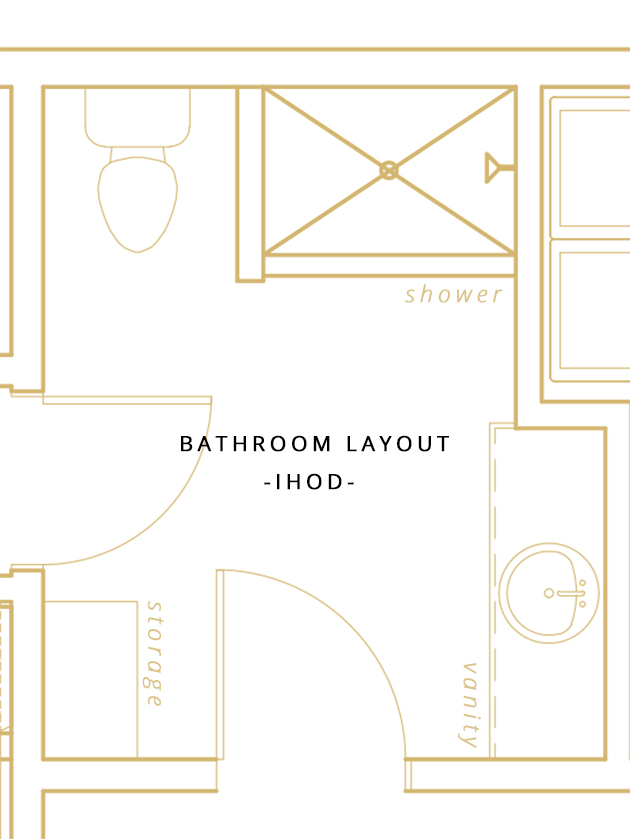 we are so excited to be able to partner with kohler for this space we have used their products for several years so am so thrilled to integrate their - Bathroom Remodel Layout