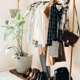3 quick steps for building a fall capsule wardrobe.