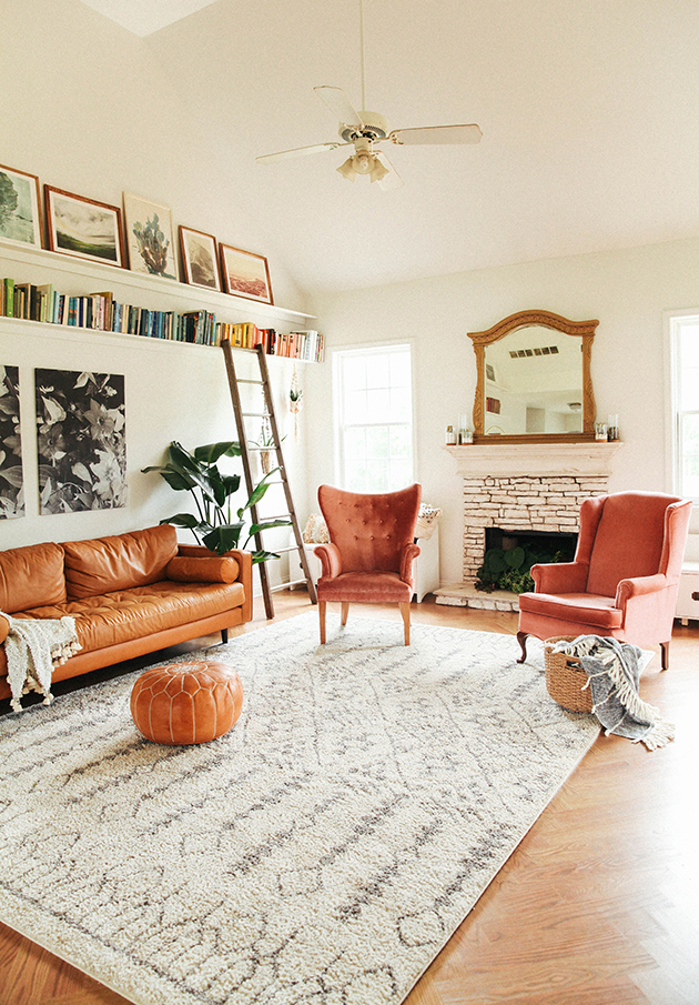 in honor of design Living room makeover reveal! | In Honor Of Design in honor of design