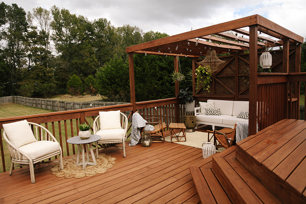 Awesome Picture Of Two Tier Deck Designs Fabulous Homes