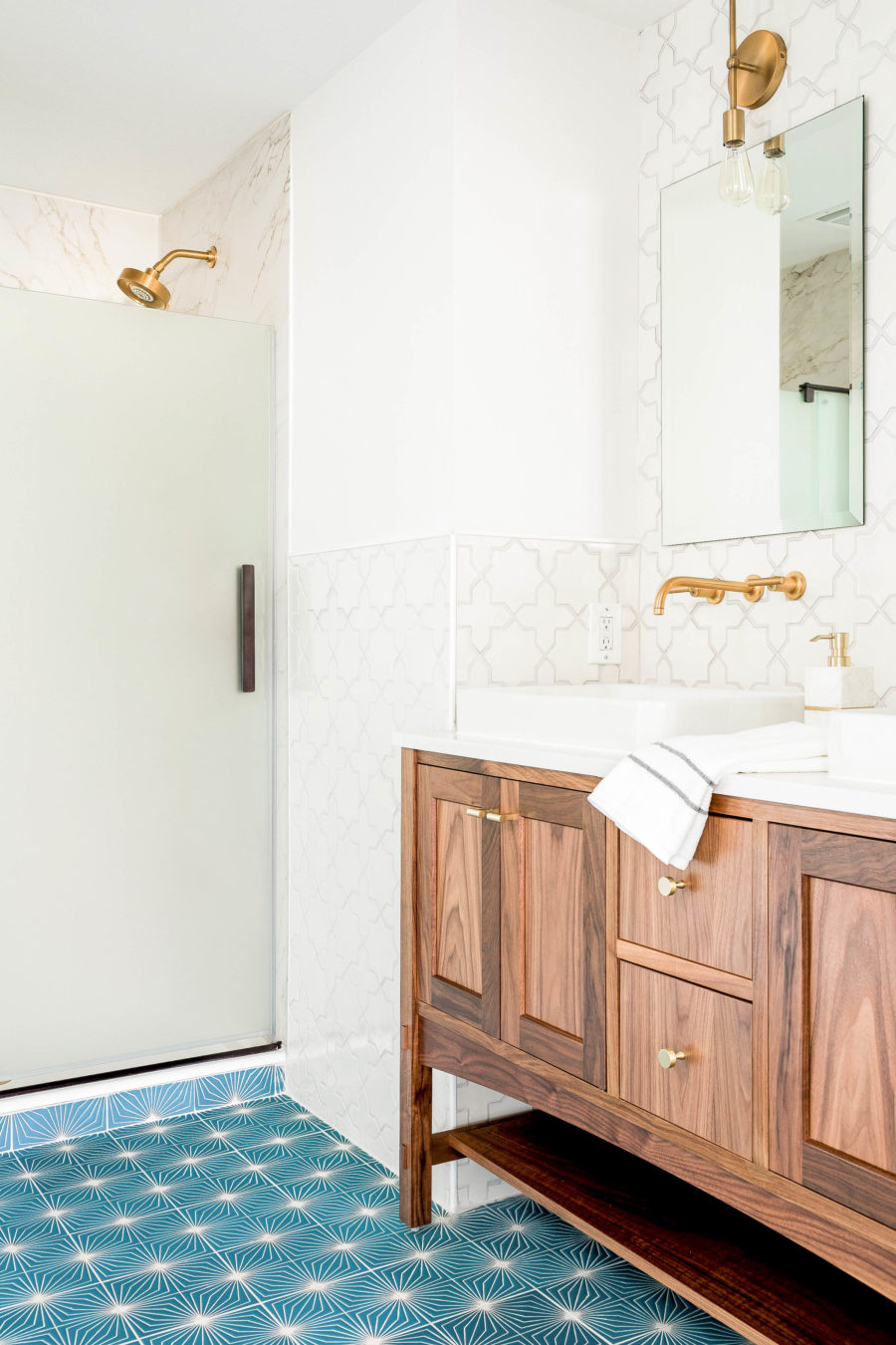 Bathroom Reveal! (The one with the Alpaca.) | In Honor Of Design