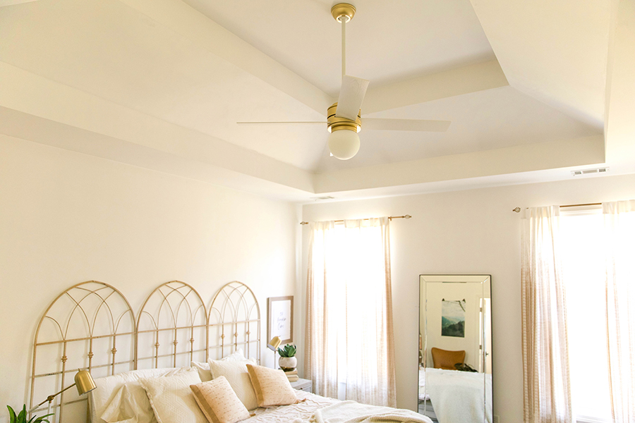Home Update: Upgrading Ceiling Fans!