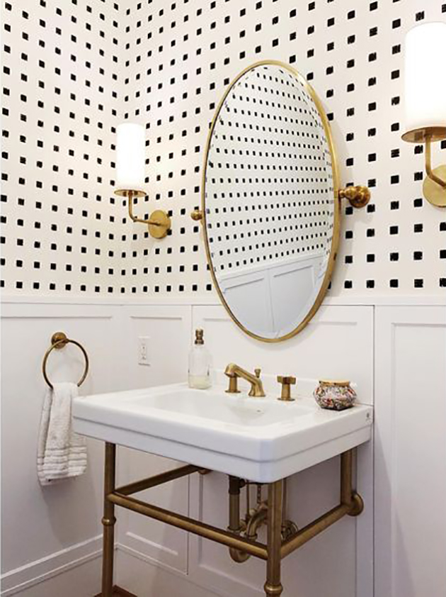 500 Powder Room Makeover Challenge In Honor Of Design