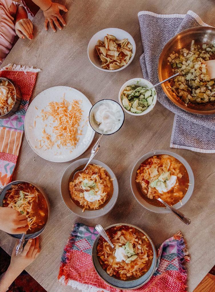 Chicken Tortilla Soup Recipe In Honor Of Design