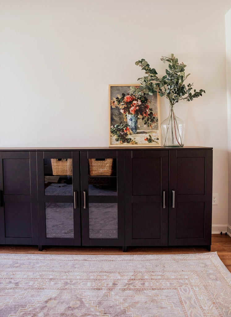 Design Your Room Online Ikea: Studio Room Storage: IKEA Brimnes Cabinets