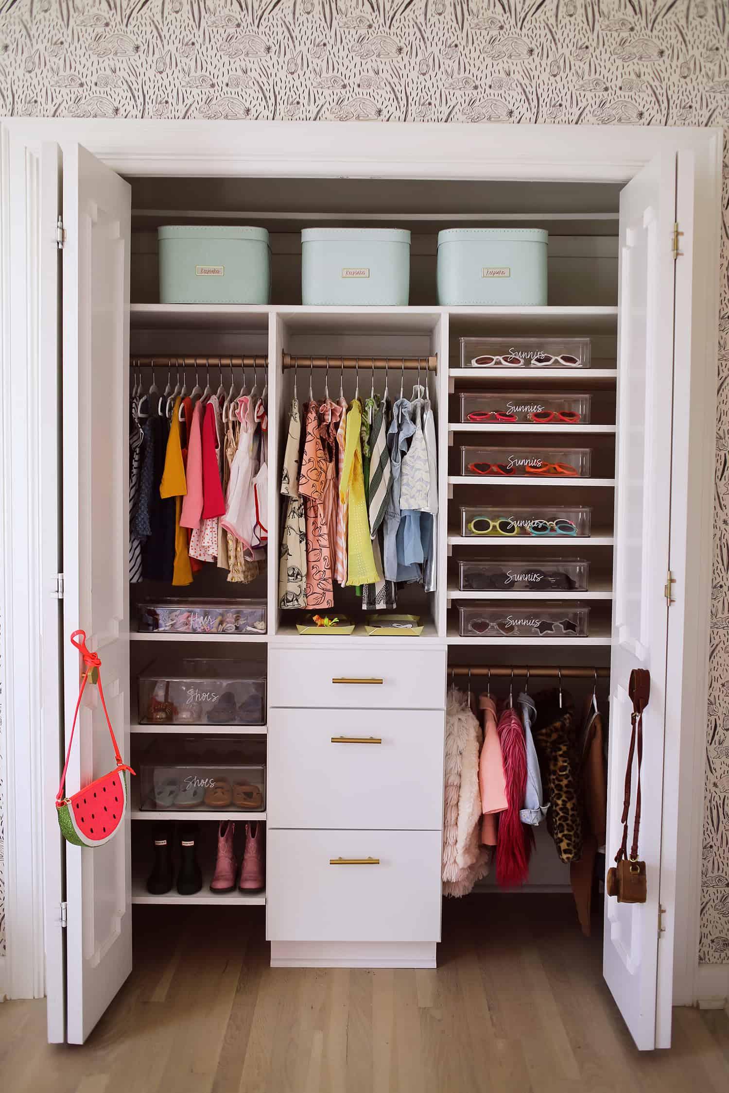 Kids Closet Storage Ideas In Honor Of Design