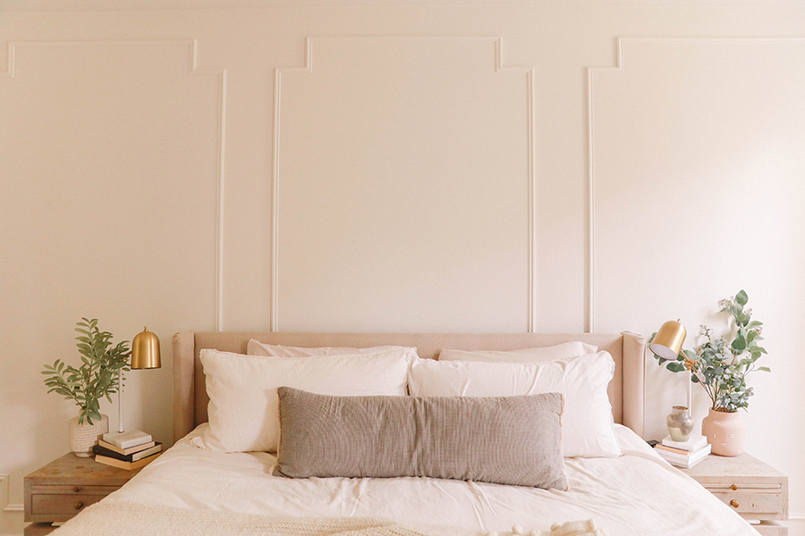 DIY decorative wall paneling
