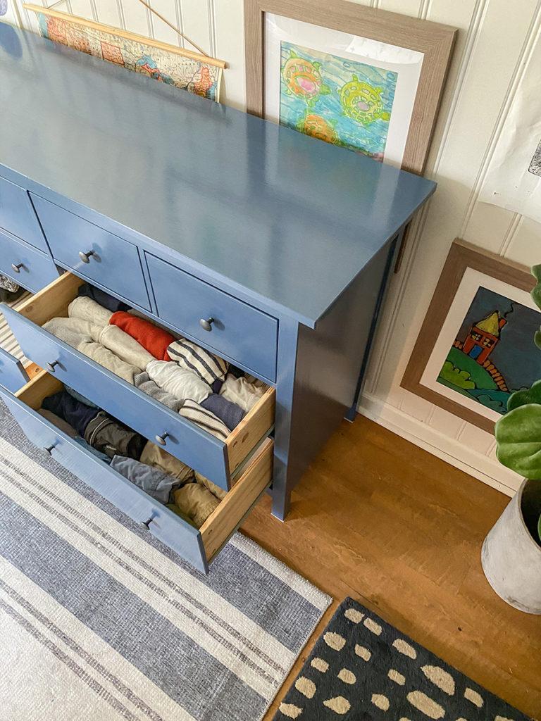 clothes organization - IKEA Hemnes