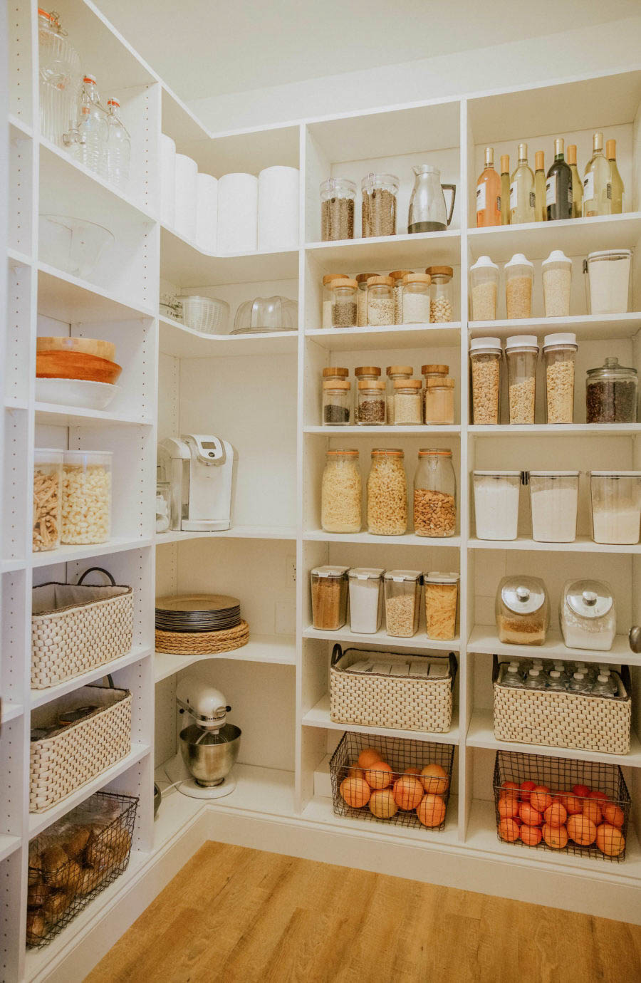 Pantry design project from start to finish + total cost ...