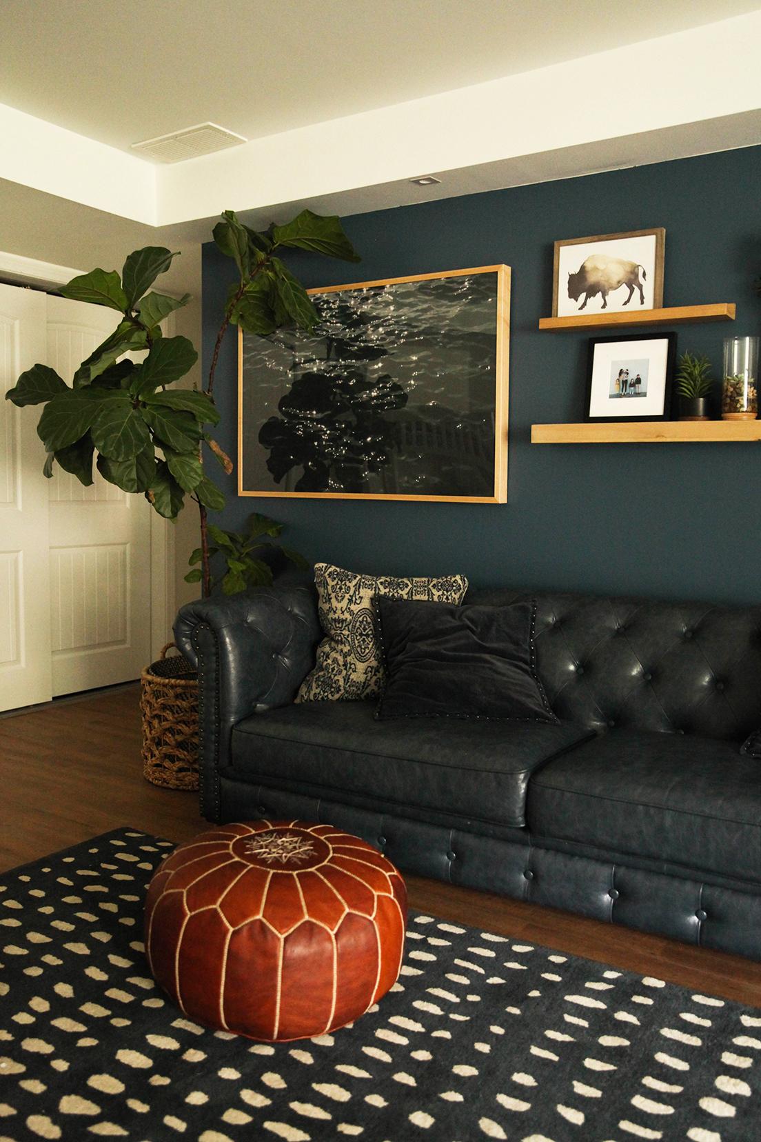 navy room design