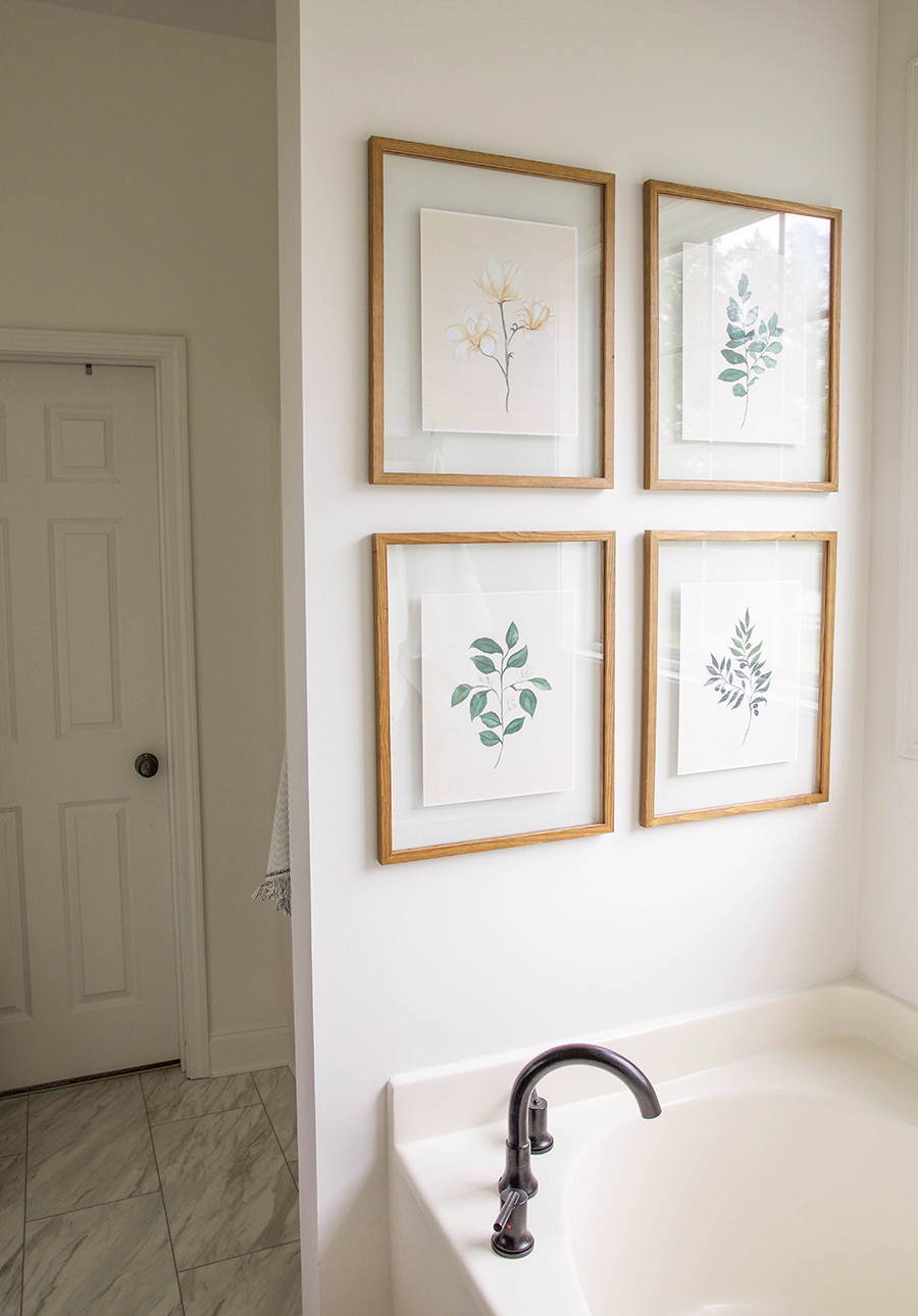 Vintage Botanical Prints Bathroom Art Ihod In Honor Of Design